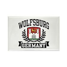Wolfsburg Germany Rectangle Magnet