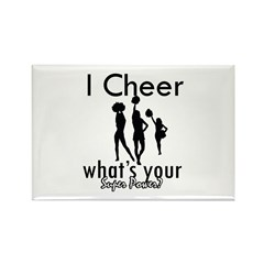 I Cheer Rectangle Magnet (10 pack)