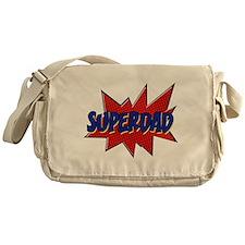 Funny Super hero dad Messenger Bag