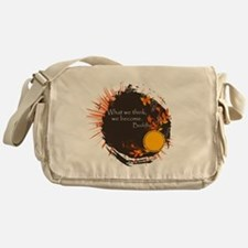 Buddha Quote Messenger Bag