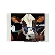 Cow 3 Rectangle Magnet