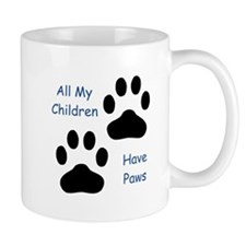 All My Children Have Paws Small Mug