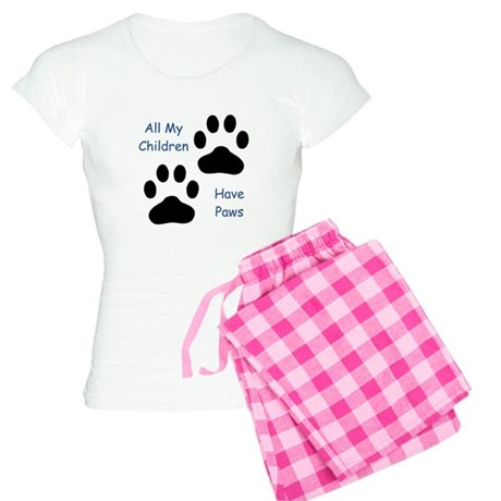 All My Children Have Paws Women's Light Pajamas