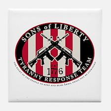 Tyranny Response Team Tile Coaster