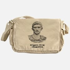 Prepare to be conquered. Messenger Bag