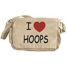 love hoops Messenger Bag