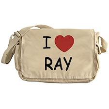 I heart ray Messenger Bag