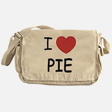 I heart pie Messenger Bag