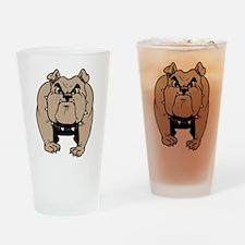 big dog Drinking Glass