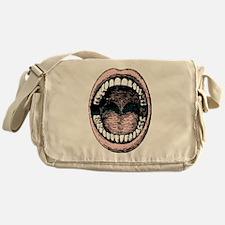 open wide Messenger Bag