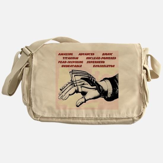 superhero gear Messenger Bag