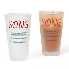 song defined Drinking Glass