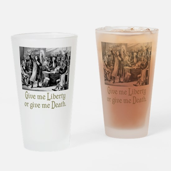 Give me Liberty... Drinking Glass