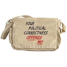 political correctness Messenger Bag