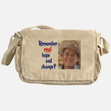 real hope and change Messenger Bag