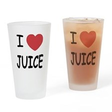 I heart juice Drinking Glass