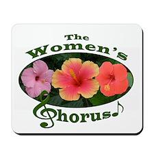 Women's Chorus Mousepad
