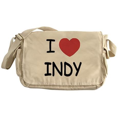I heart Indy Messenger Bag