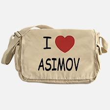 I heart Asimov Messenger Bag