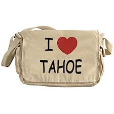 I heart Tahoe Messenger Bag