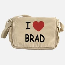 I heart Brad Messenger Bag