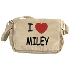 I heart miley Messenger Bag
