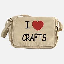 I heart crafts Messenger Bag