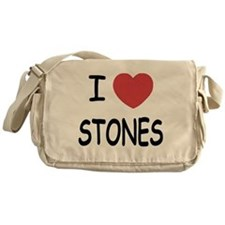 I heart Stones Messenger Bag