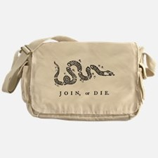 Join or Die Messenger Bag