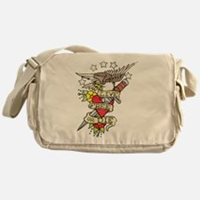 Live Free Or Die Messenger Bag