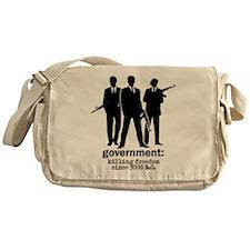 Government: Killing Freedom Messenger Bag
