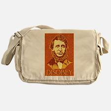 "Thoreau ""Disobey"" Messenger Bag"