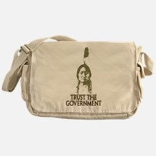 Trust the Government Messenger Bag