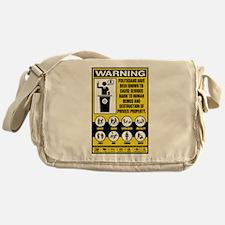 Warning: Politicians Messenger Bag