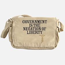Negation of Liberty Messenger Bag