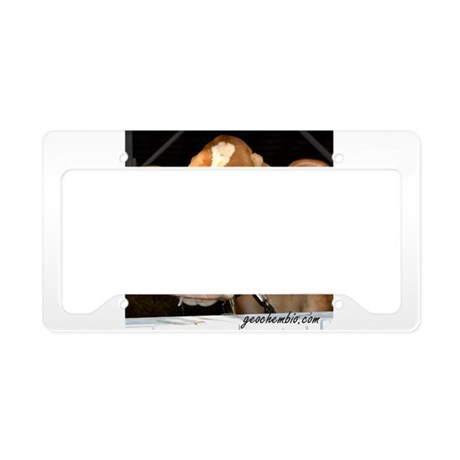 Cow 5 License Plate Holder