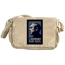 I Support Ron Paul Messenger Bag