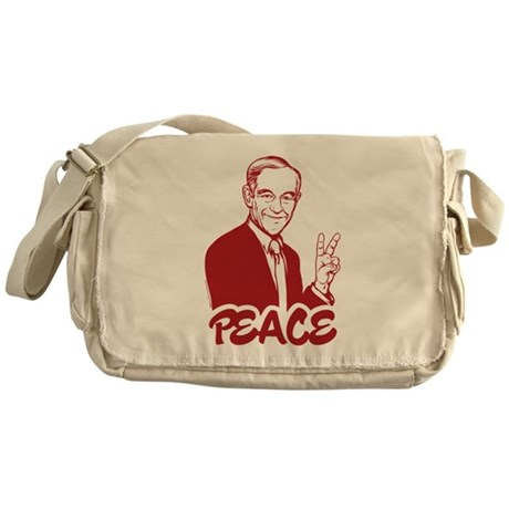 Ron Paul Peace Messenger Bag