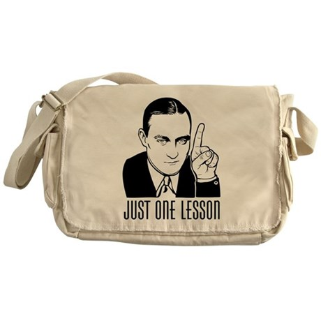 Henry Hazlitt Messenger Bag