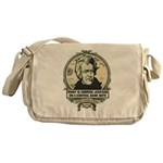 Irony is Andrew Jackson Messenger Bag