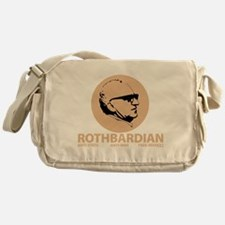 Rothbardian Tan Messenger Bag