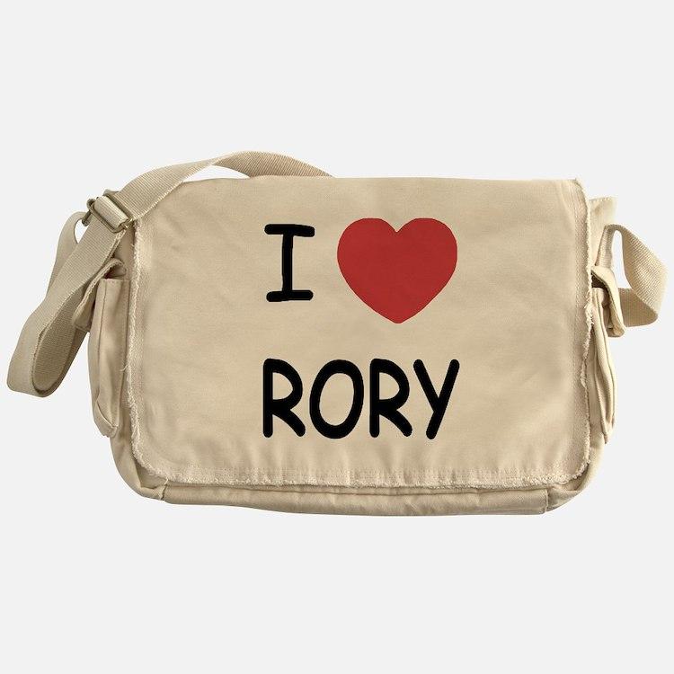 I heart rory Messenger Bag