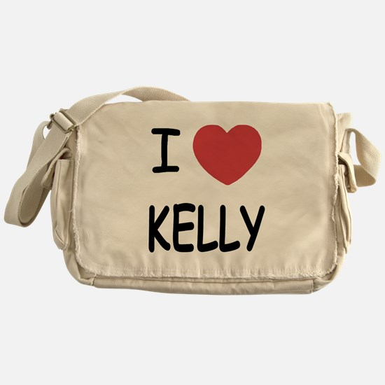 I heart kelly Messenger Bag