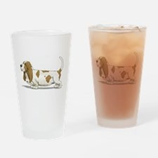 Basset Hound Drinking Glass