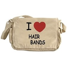 I heart hair bands Messenger Bag