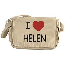 I heart helen Messenger Bag