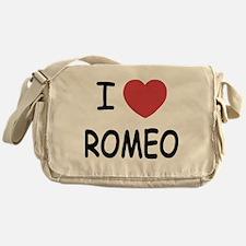 i heart romeo Messenger Bag
