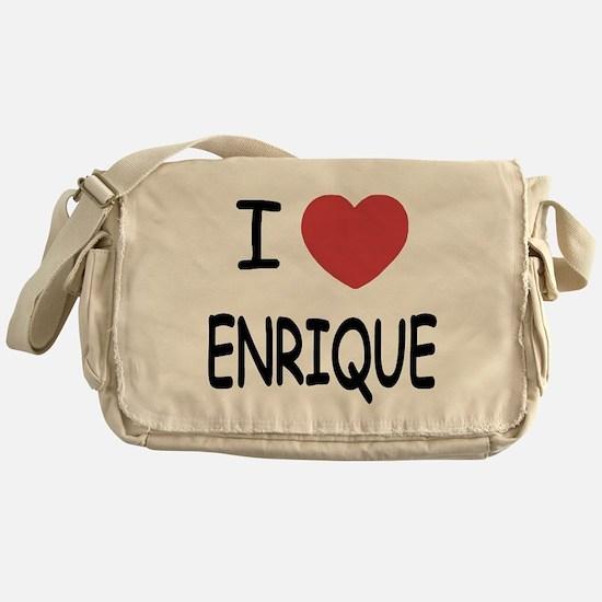 I heart enrique Messenger Bag