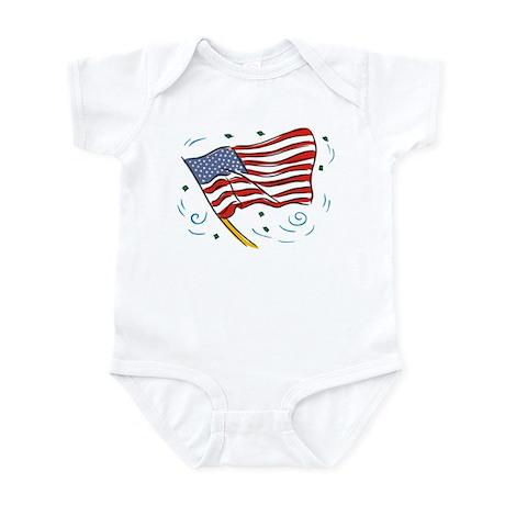 Grand Old Flag Infant Creeper