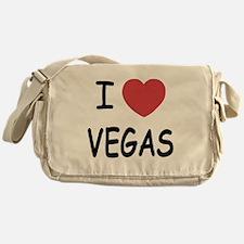 I heart vegas Messenger Bag